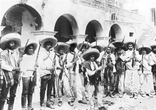 ... el patrón de conducta de los rebeldes de la guerra de Independencia