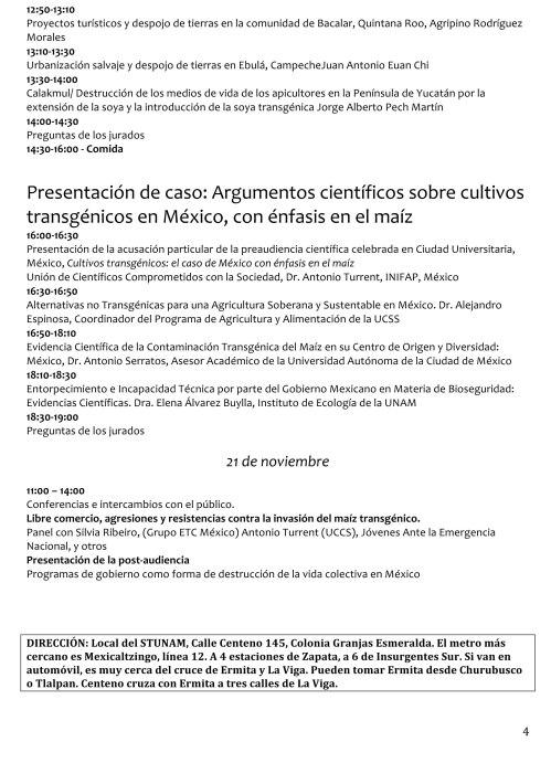 TPP Maíz Programa al público1